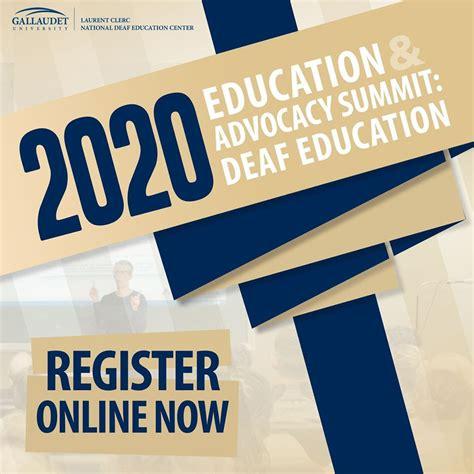 education advocacy summit deaf education deaf