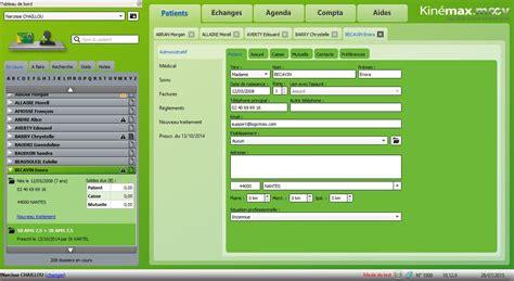 logiciel cabinet kin 233 sith 233 rapeute kinemax moov
