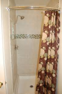 Shower Curtain Curved