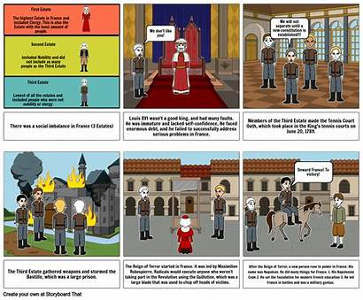French Revolution Storyboard Storyboards Slide