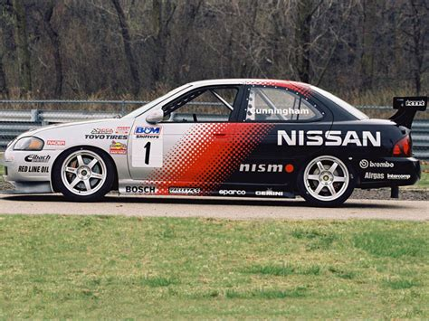 nissan nismo race car nismo nissan sentra se r spec v racing car b15 39 2004