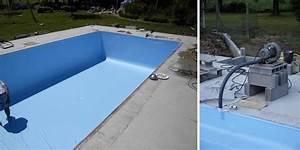 Pose d'un liner de piscine: comment faire ? Jardipartage