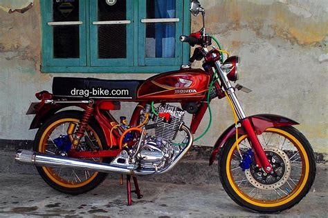 Modif Motor Cb Yang Bagus by 51 Foto Gambar Modifikasi Motor Cb 100 Terbaik Kontes Drag