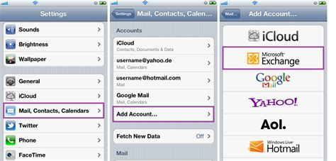 how to add calendar to iphone image gallery iphone 6 mail contacts calendars