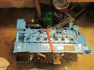 Chris Craft Hercules Kbl 6 Cyl  Tri Carburetor 1956