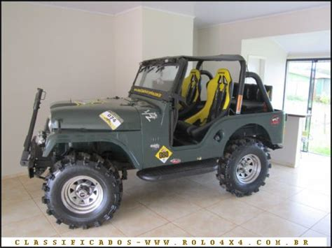 jeep willys rolo 4x4 classificados de ve 237 culos off road compra e venda de pe 231 as e