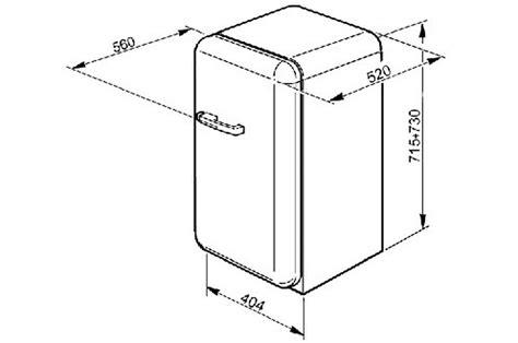 cuisine maxi dimensions frigo