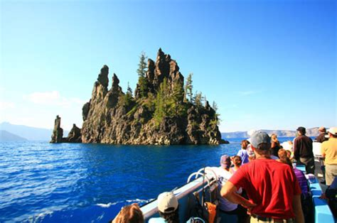 Crater Lake Boat Rental by Boat Ride In The Caldera Of Crater Lake National Park