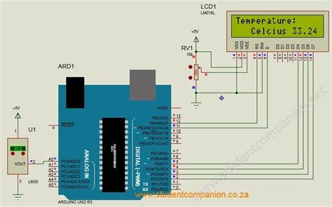 Digital Thermometer Using Arduino Sensor