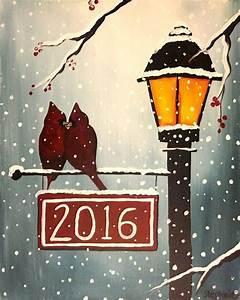 Best, 25, Christmas, Canvas, Paintings, Ideas, On, Pinterest