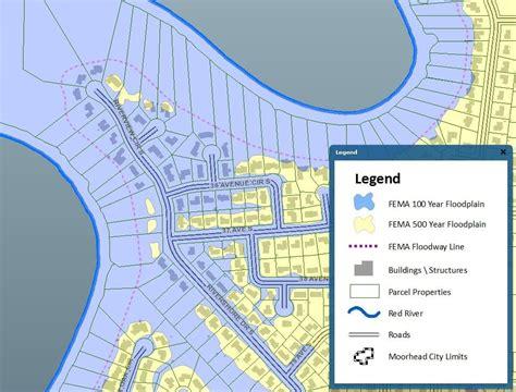 fargo moorhead flood maps  hit  homeowners