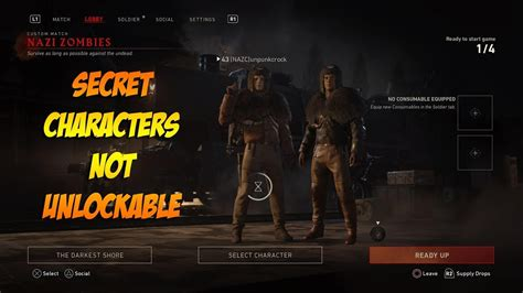 Darkest Shore Secret Characters Currently Unobtainable