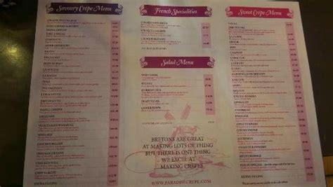 pate a crepe croque menu croque monsieur et cr 234 pes sal 233 es picture of paradise