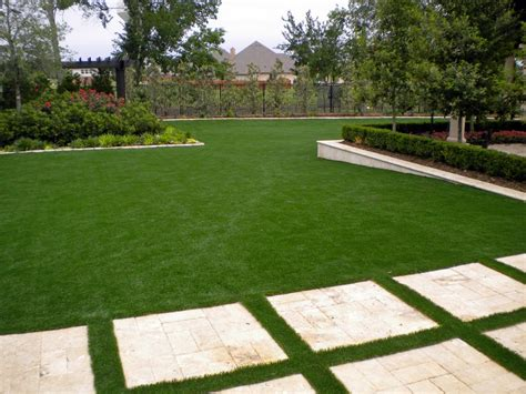 cost to lay grass outdoor stone pavers with cost to install artificial grass and wood fencing also green garden