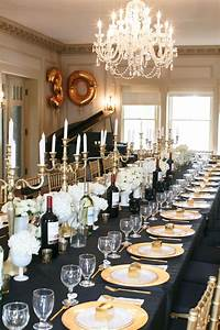 Gatsby Inspired New Year's Eve Dinner Party Ideas Unique