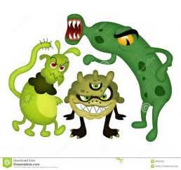 Funny Bacteria Cartoon