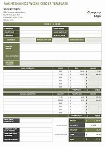 automotive repair orders templates 15 free work order templates smartsheet