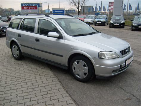 Opel Astra G by 2001 Opel Astra G Caravan Pictures Information And