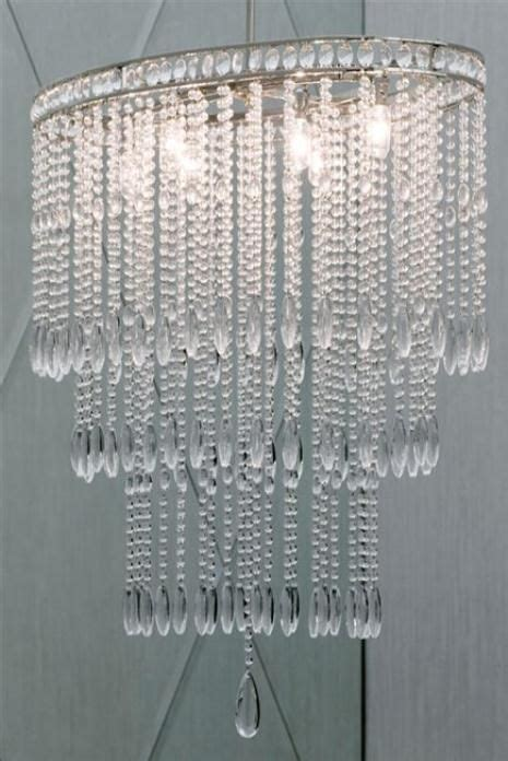 beaded chandelier l shade