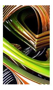 Green And Brown Fractal HD Abstract Wallpapers | HD ...