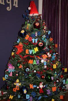 sesame street christmas tree christmas pinterest