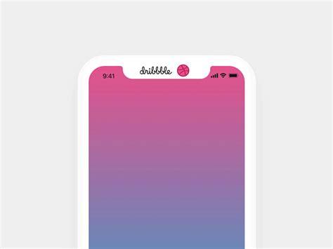 Iphone Top Bar by Iphone X Concept Interactive Top Bar By Balazs Korcsog