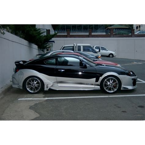Hyundai Tiburon Kit by M S Carart Warrior Wide Kit Hyundai Tiburon