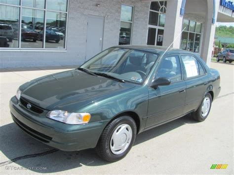 2000 Toyota Corolla Ce by 2000 Woodland Green Pearl Toyota Corolla Ce 29536360
