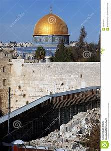 Western Wall And Dome Of The Rock Stock Photos - Image ...
