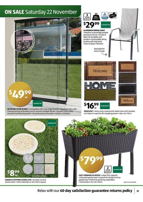 Gardenline Patio Furniture Aldi by Aldi Special Gifts Buys Page 21