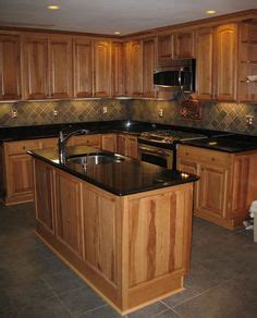 kitchen cabinets with lights honey oak cabinets with orange wall kitchen ideas 6476