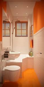 Salle De Bain Idée Déco : l 39 am nagement petite salle de bains n 39 est plus un ~ Dailycaller-alerts.com Idées de Décoration