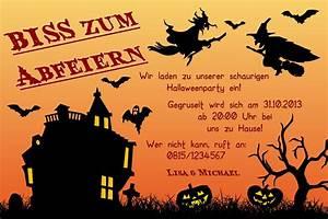 Halloween Einladungskarten Einladung Zum Paradies