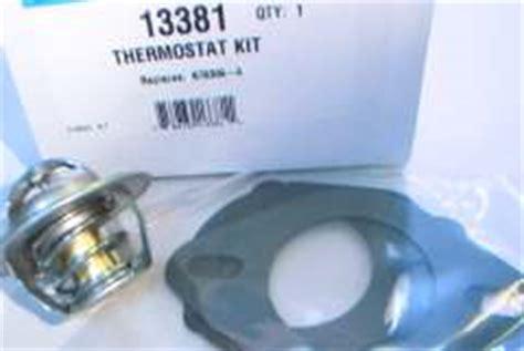volvo penta omc cobra sx thermostat kit