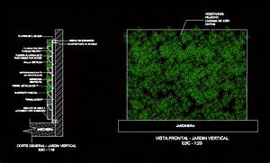 Detail Of Plant Wall DWG Detail for AutoCAD • Designs CAD
