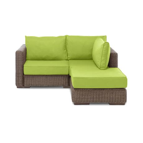 Lovesac Outdoor Cover by Small Outdoor Chaise Sactional Melon Sunbrella Cover