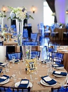 beautiful navy blue wedding decorations to inspire you With navy blue wedding decorations