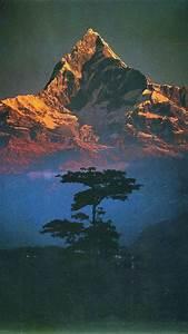 Nature, Landscape, Mountains, Trees, Portrait, Display