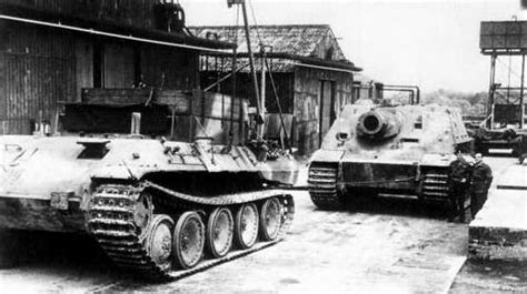 home interior tiger picture sturmtiger and bergepanther 1945 war photos