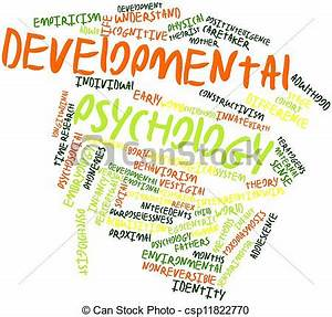 Abstract word cloud for developmental psychology with ...