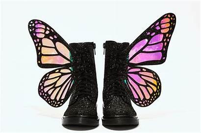 Kill Dolls Boots Butterfly Glitter Dollskill Limited
