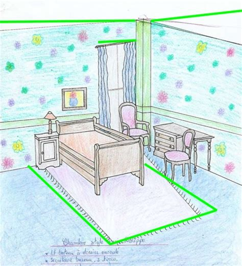 dessin d une chambre en perspective stunning dessin chambre perspective ideas design trends