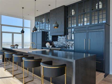 black  gold stove design ideas