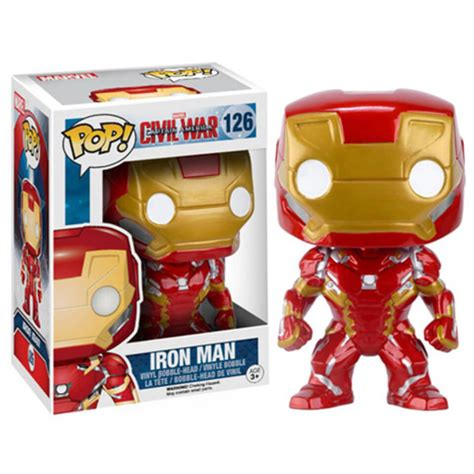 marvel captain america civil war iron man pop vinyl