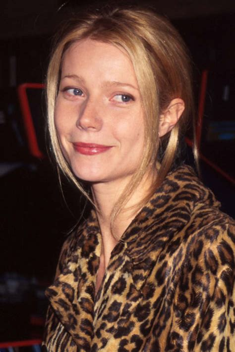gwyneth paltrows beauty evolution     years
