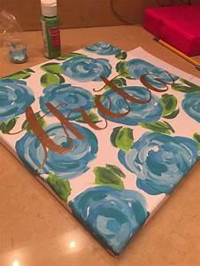 kappa alpha theta lilly pulitzer painting sorority With kappa alpha theta lilly pulitzer letters