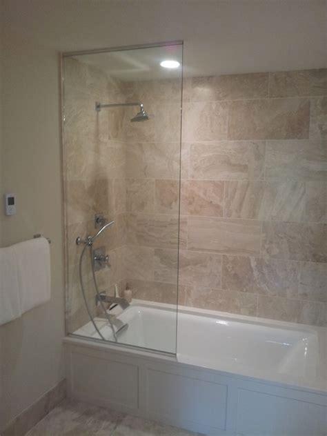 frameless sliding splash guards bathroom minneapolis