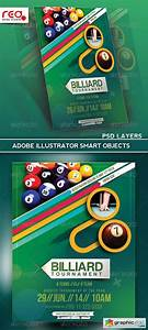 Art Flyer Template Billiard Tournament Flyer Poster Magazine Template Free