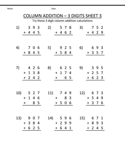free 2nd grade math worksheets printable shelter