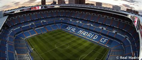 estadio santiago bernabeu history real madrid cf